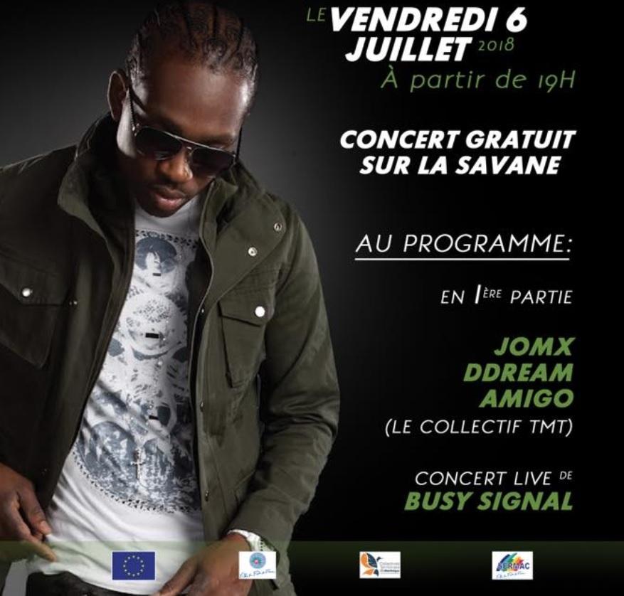 Programme de la première semaine du Festival de la Ville de Fort-de-France