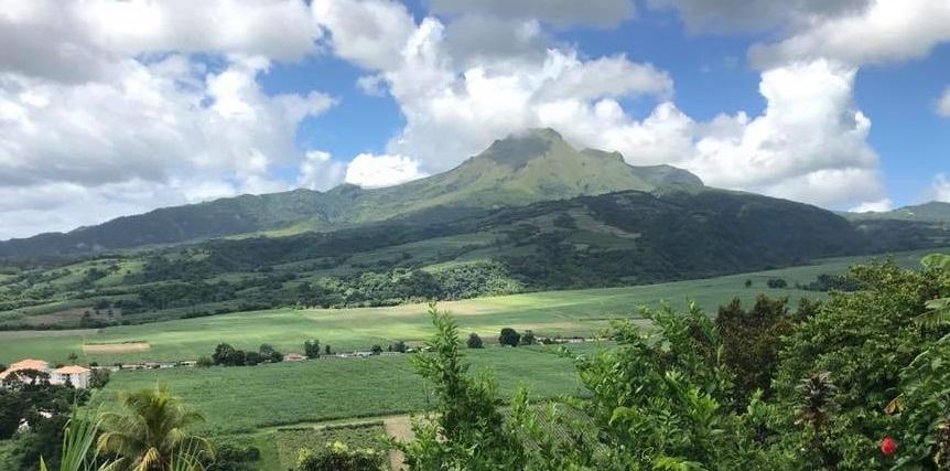 La Montagne Pelée une appellation  mondialement connue, plus populaire que le mot Martinique !