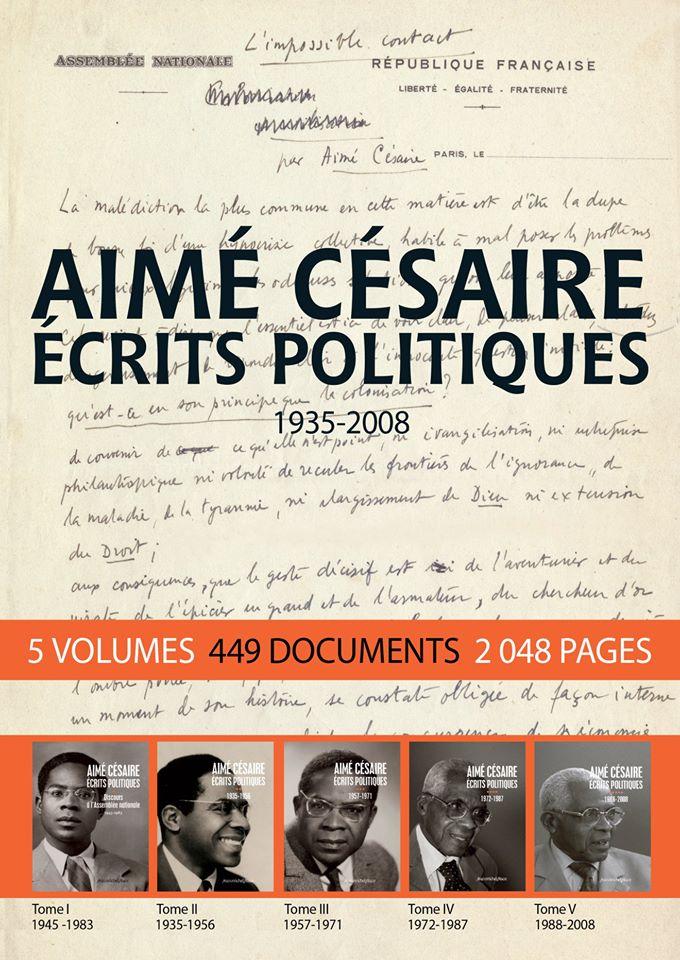 """Parution des deux derniers volumes des """"Écrits Politiques"""" d'Aimé Césaire"""