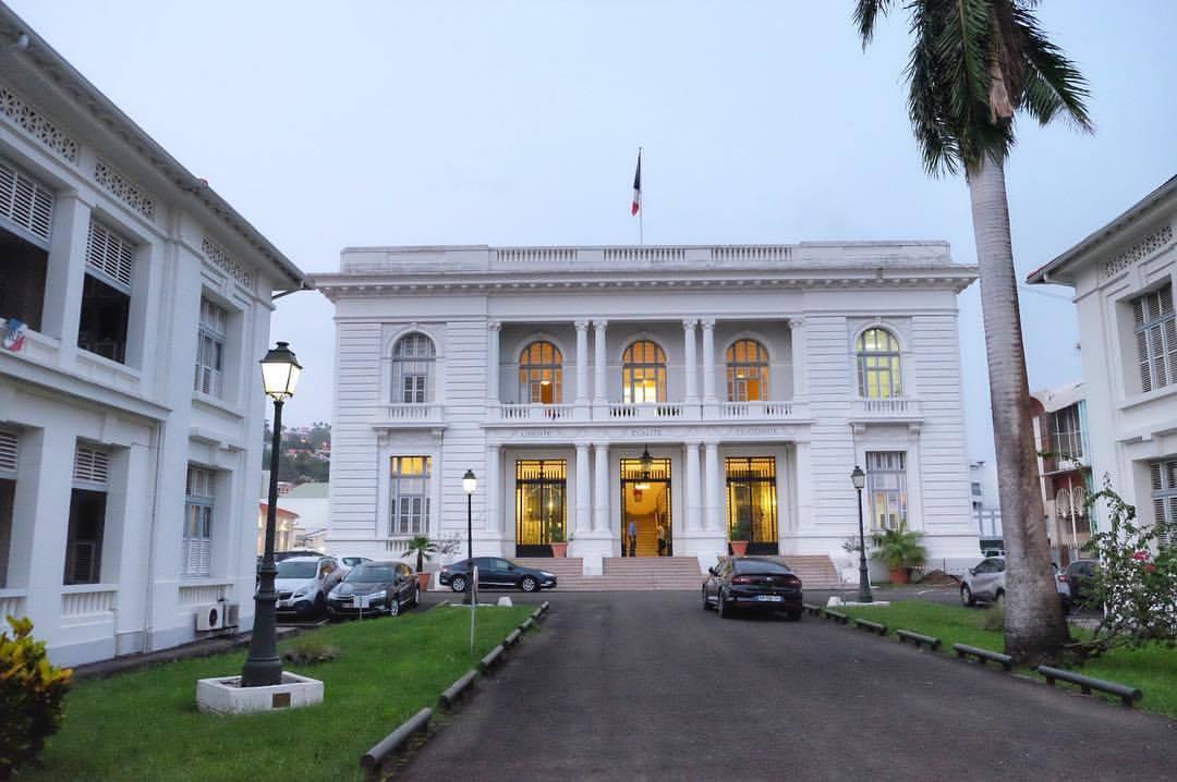 Visite : #OlivierAllain et #VincentSteinmetz en Martinique de quoi vont-ils nous parler ?