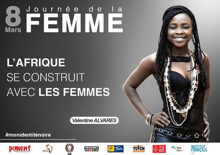 Valentine Alvares la plus Martiniquaise des Togolaises