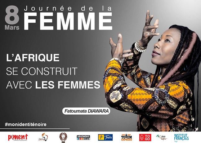 Femme /  Célébration de la journée internationale des droits des femmes en Afrique.