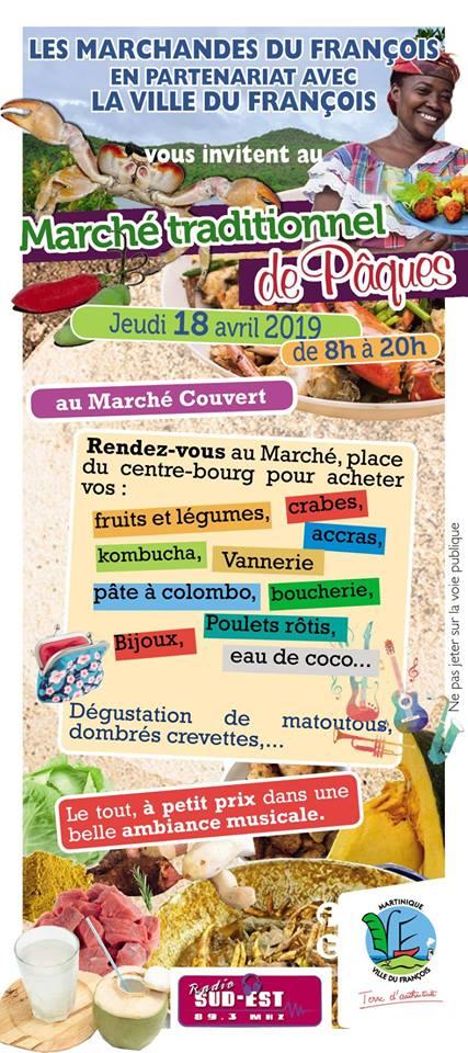 François / Les marchandes invitent la population à leur marché traditionnel de Pâques !