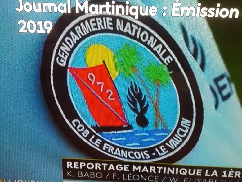 Martinique 1 er qui a réalisé ce reportage aura marqué le coup par l'image.