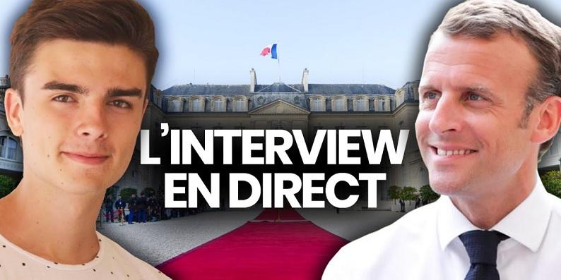 Macron / Surprendre sur le timing et sur la forme, pour mobiliser les jeunes !