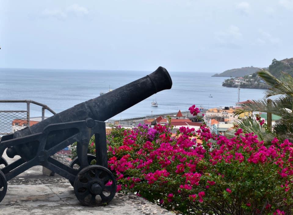 Caraïbes / Mer, vagues et terres à l'horizon avec Marino !  1 semaine à Grenade.