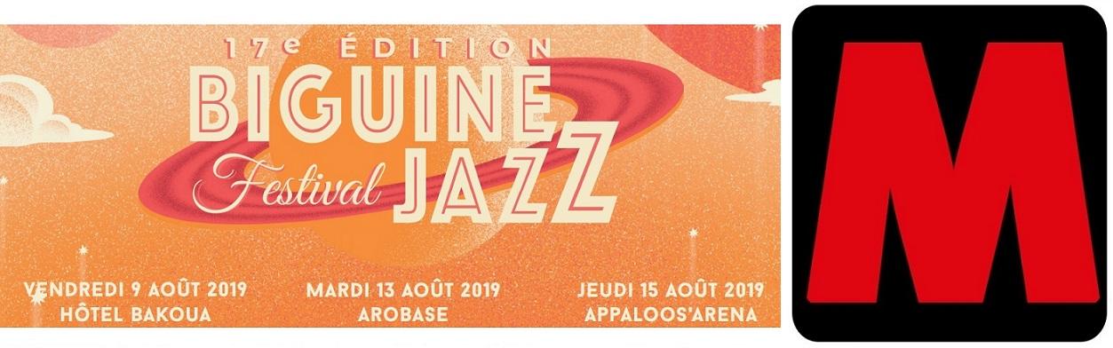 Biguine Jazz 2019... l'interview de Max Mona !