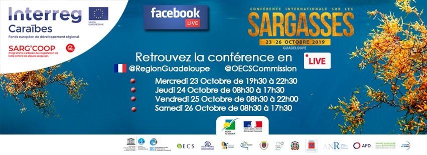En direct de la Guadeloupe, Conférence Internationale sur les Sargasses.
