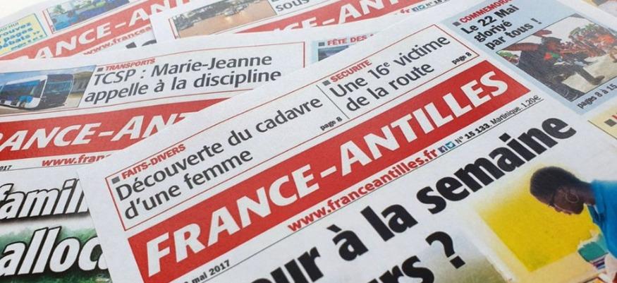 A notre avis la plus belle pagination de France Antilles