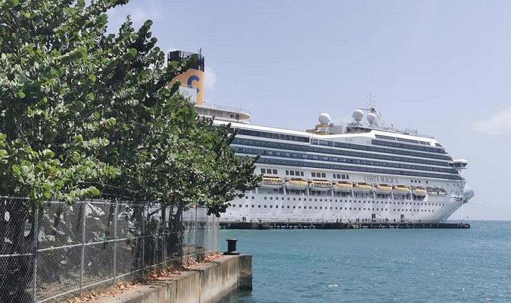 Photo Costa Magica à Tobago