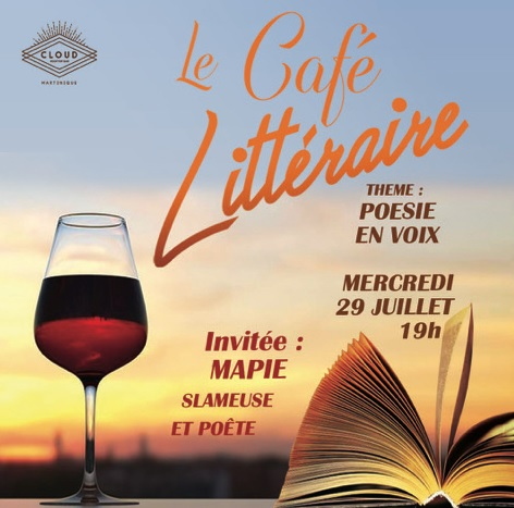 LE CAFÉ LITTÉRAIRE - POÉSIE EN VOIX avec la slameuse et poète MAPIE