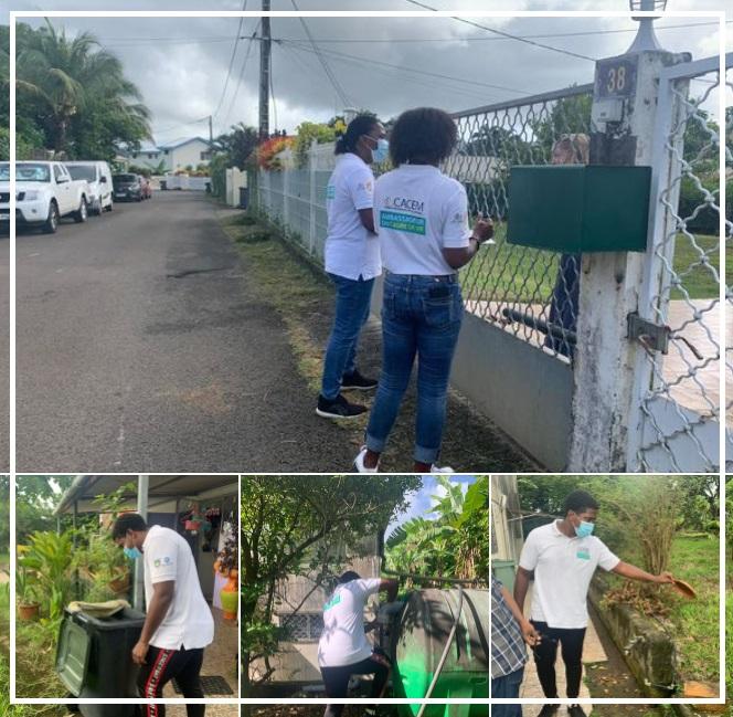 CACEM / action « coup de poing » et de lutte contre la Dengue.
