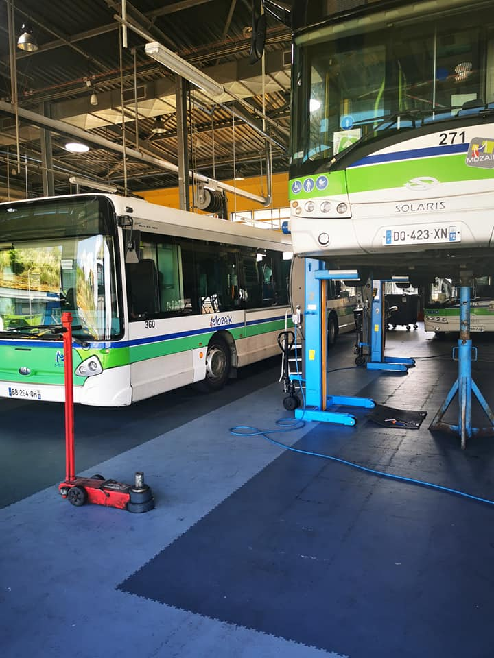 Le covid 19 est dans les bus du centre ! Trois entreprises concernées .
