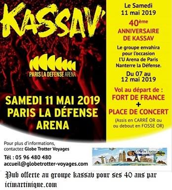 [ Cadeau de Noêl ] Le concert évènement des 40 ans du groupe KASSAV.