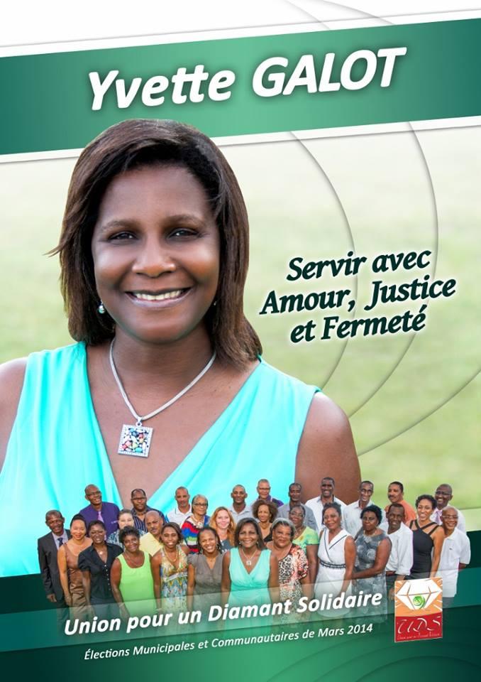 Yvette GALOT CHOCHO EUSTACHE en lè RCI