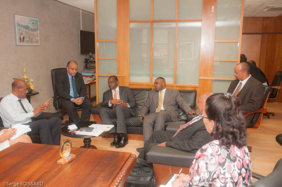 M. le Premier Ministre de la Dominique, Roosevelt Skerrit était en MARTINIQUE son discours intégral