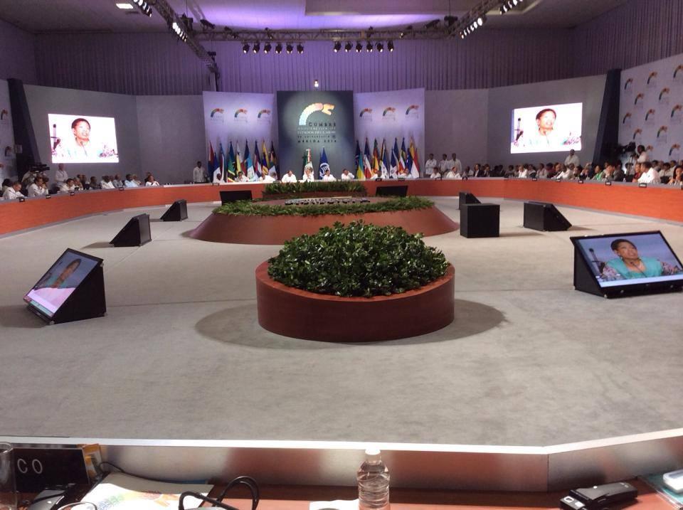 Intervention de Madame la Ministre des Outre-mer George Pau-Langevin au VIe sommet de l'AEC