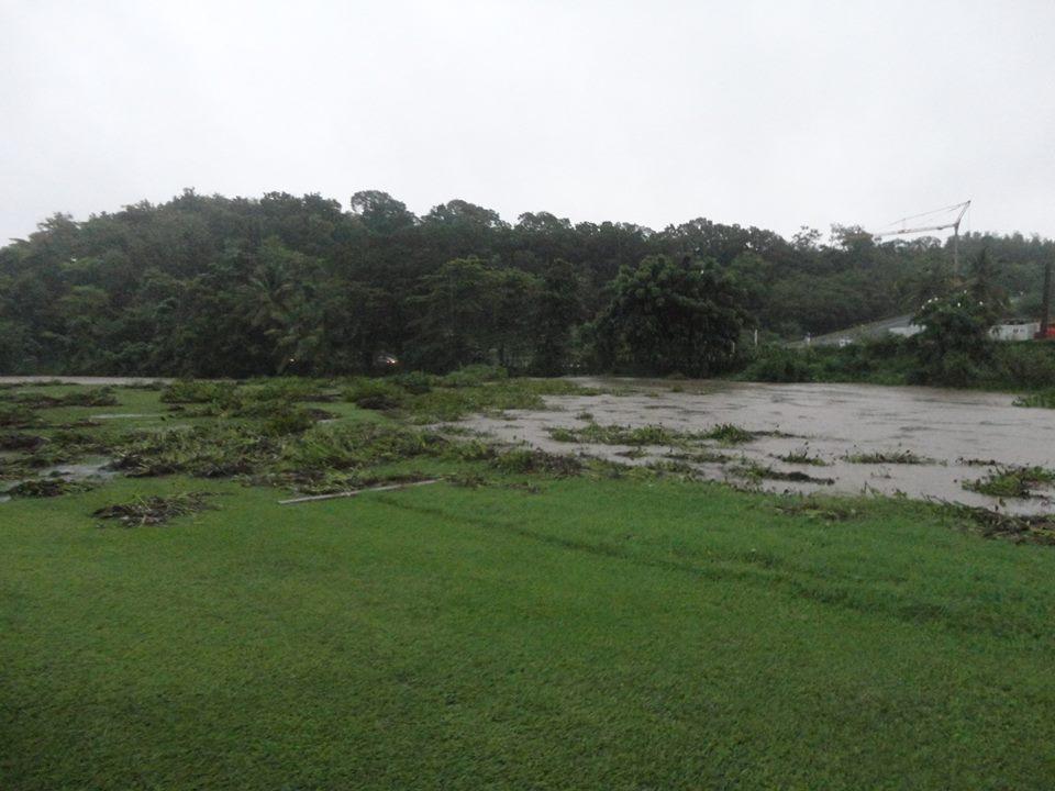 Le golf de la Martinique sous l'eau.