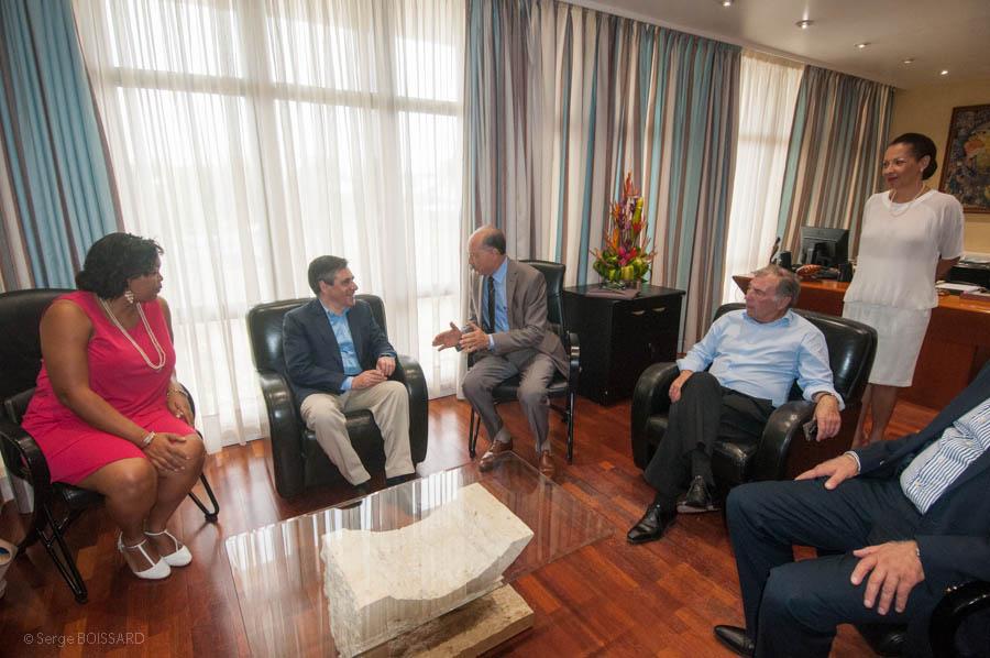Visite du président de la CTM