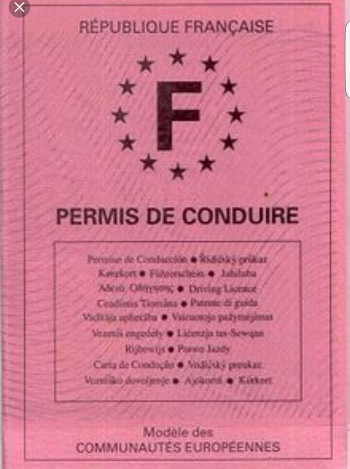 Illégal le permis à points en France pour les titulaires du permis d'avant le 1 juillet 1992!