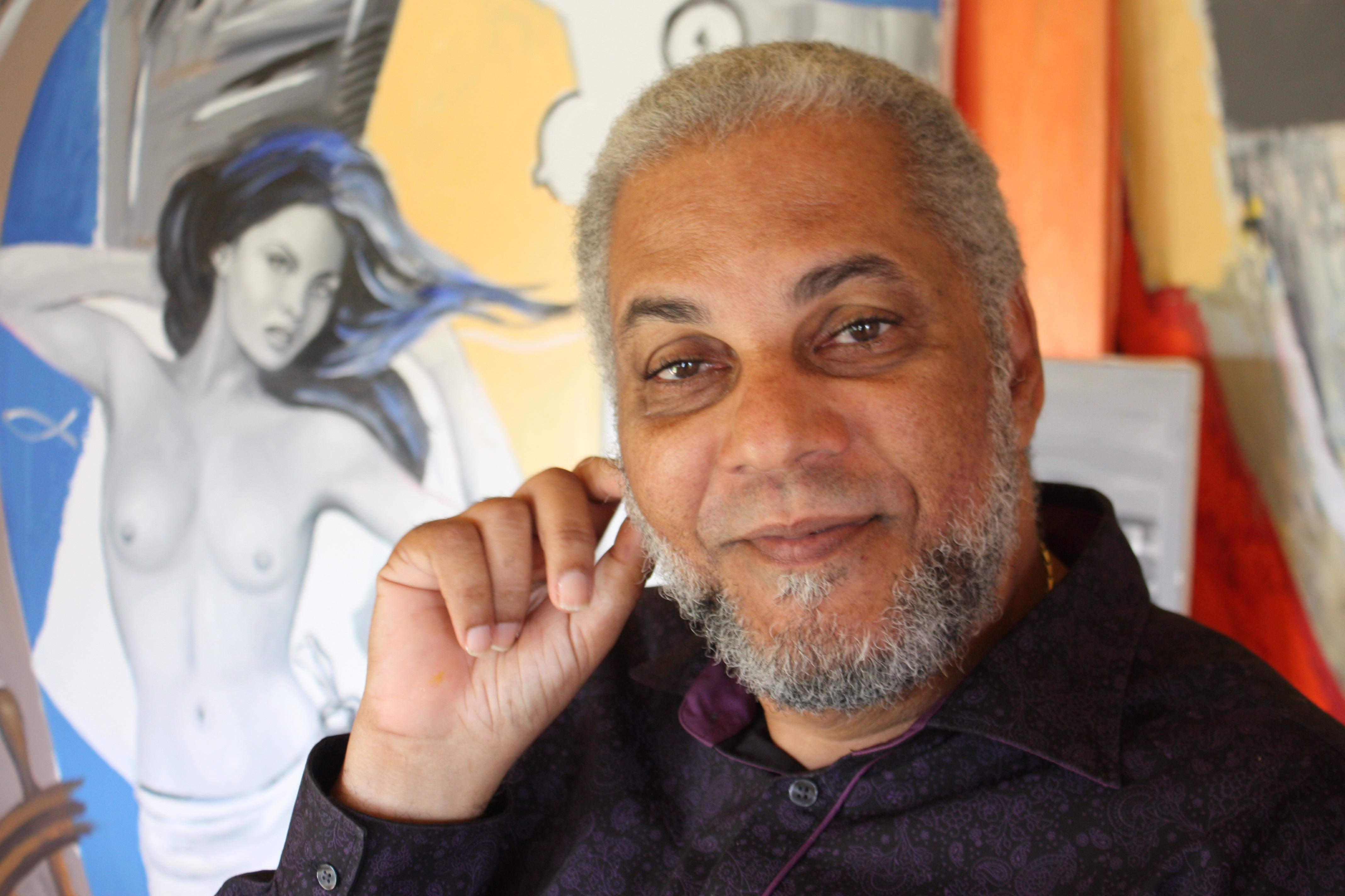 """L'Invité de la rue Sévère"""" est Hector CHARPENTIER, Artiste Peintre."""