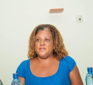 Catherine CONCONNE explique la situation de l'AFPA