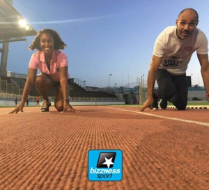 Deux Martiniquais au paysdes aborigènes #world masters athletics champion ships