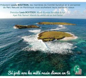 Louis BOUTRIN présente à la presse et médias assimilés ses vœux pour 2017