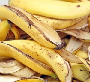 Les peaux de banane... Un produit de beauté par excellence