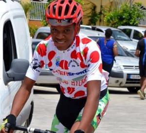 Ti Nubul  Champion de MARTINIQUE cycliste junior.
