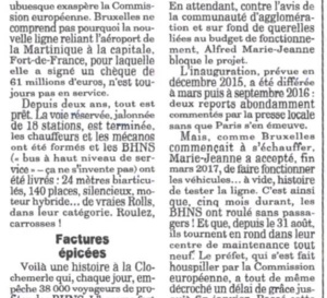 Les Martiniquais sont-ils des Canards TCSP izé ?