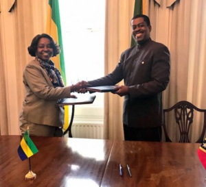 Saint-Kitts-et-Nevis a officiellement commencé les relations diplomatiques entre les Caraïbes et le Gabon.