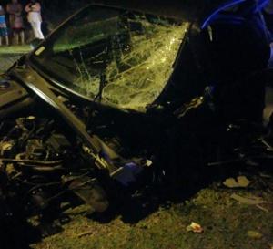 Première photo choc de l'accident de Camille Alexandre  !