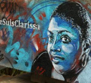 Un artiste parisien rend hommage à Clarissa Jean-Philippe, assassinée à Montrouge.