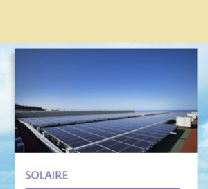 Albioma est le premier producteur d'énergie photovoltaïque en Outre-mer français