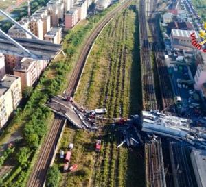 Gênes, Italie le viaduc : Que se sera-t'il passé exactement ?