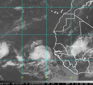 La Martinique pourrait être sur la route d' ISAAC ! Par Josépha Luce