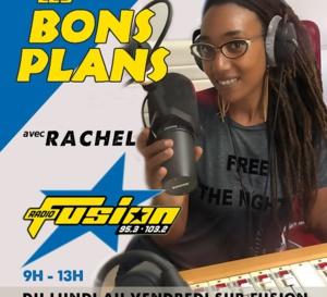 Rachel la nouvelle voix du 9 heures 13 heures sur Radio Fusion.