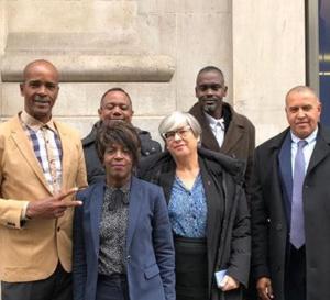 La yole ronde à L' UNESCO, voici ceux qui sont allés défendre le dossier.