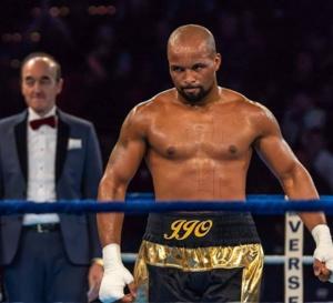 Un Martiniquais Olivier Jean Jacques champion de France 2018 de boxe mi lourd.
