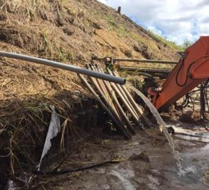 Chateaubœuf  / Pourquoi Odyssi change sa canalisation si toutes les fuites sont réparées?
