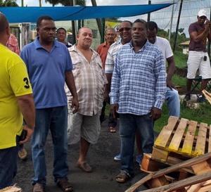 Mobilisations pour les artisans bouchers de la Martinique / Il va falloir trancher