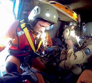 Opération de sauvetage en mer…Les recherches se poursuivent sur la zone .