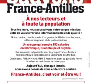 France-Antilles veut vivre !