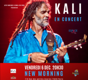 KALI en concert au New Morning 🎤 le 6 Décembre !
