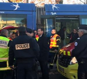 Accident de TRAM à Montpellier. Une ville très antillaise...