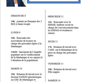 Agenda politique des élus s'élargit aux agendas de campagne : Semaine du  08 /12 /2019