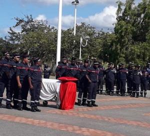 Hommage au sapeur-pompier Jose Moutama, mort en service !