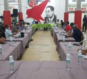 Le Comité national du PPM s'est réuni ce jeudi 28 mai en respectant les gestes barrières.
