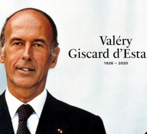 L'ex-Président de la République Française Giscard d' Estaing  est mort !